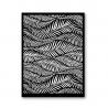 Tonja silk screen Willow in the wind