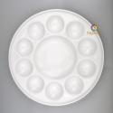 Big ceramic palette 11 alveolus