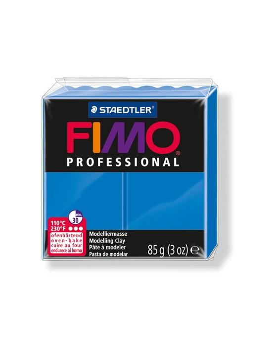 FIMO Pro 85 g Bleu Véritable N° 300