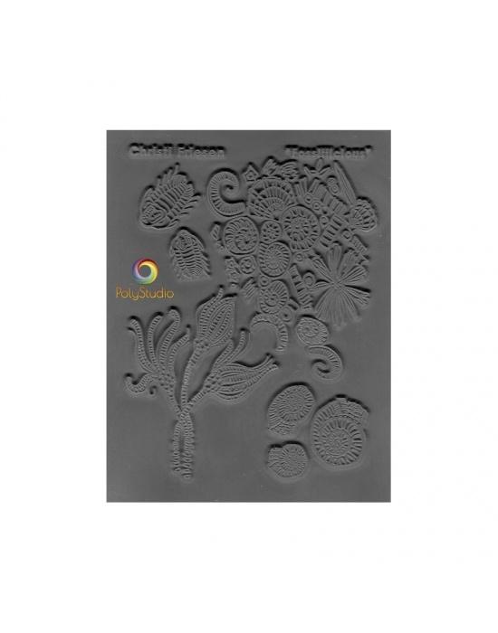 C. Friesen Texture stamp Fossilicious