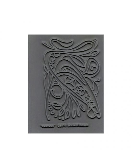 C. Friesen Texture stamp Nouveau