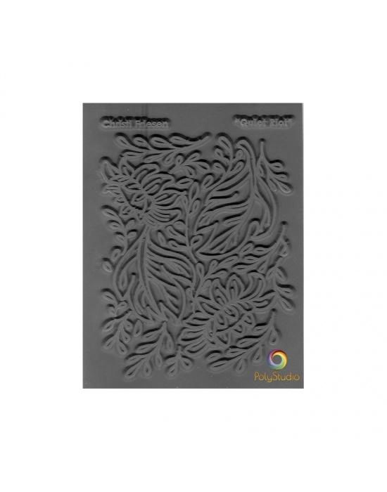 C. Friesen Texture stamp Quiet riot
