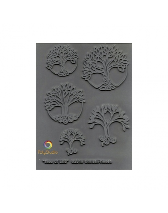 C. Friesen Texture stamp Trees of life