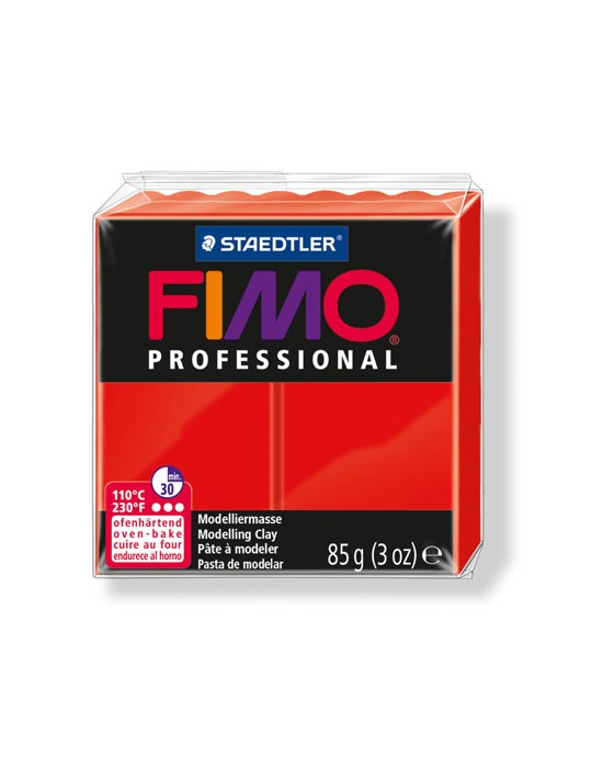 FIMO Pro 85 g 3 oz true red Nr 200