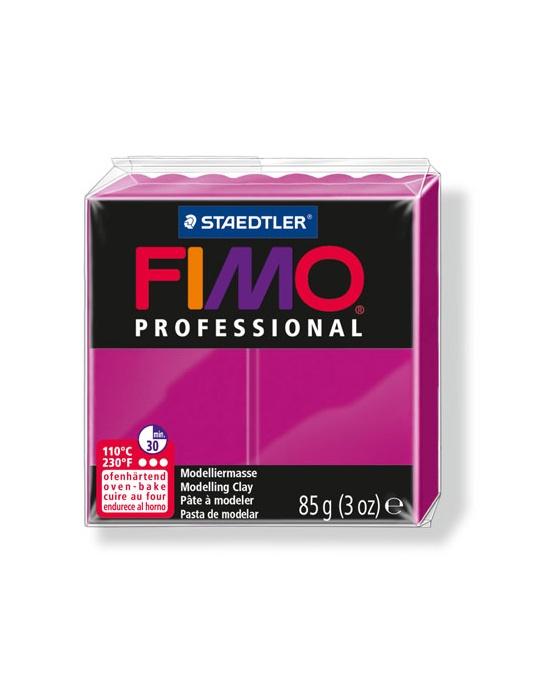 FIMO Pro 85 g magenta véritable N° 210