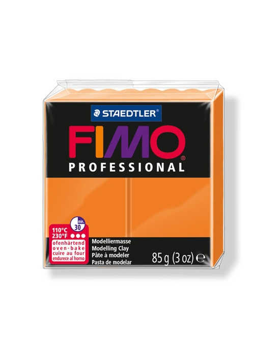 FIMO Pro 85 g orange N° 4