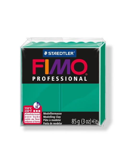 FIMO Pro 85 g Vert Véritable N° 500