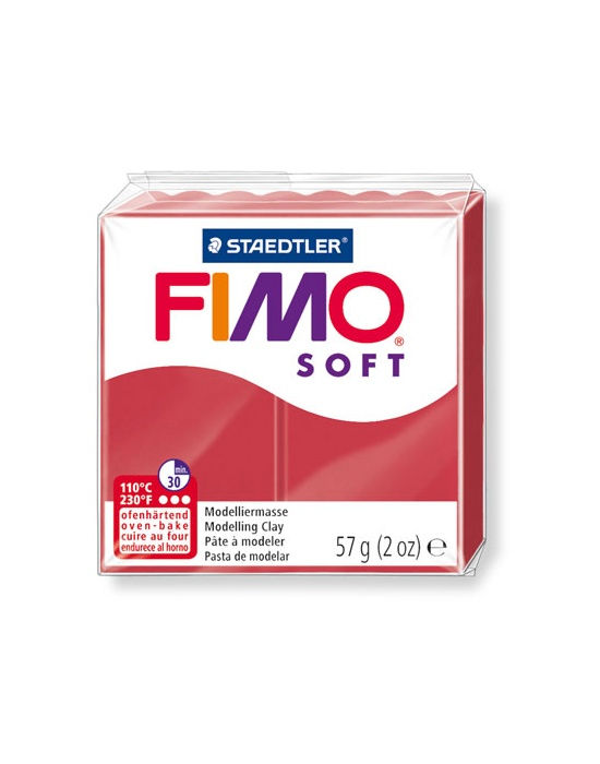 FIMO Pro 57 g 2 oz cherry red Nr 26