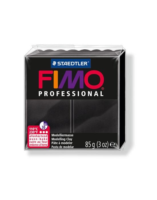 FIMO Pro 85 g Noir N° 9