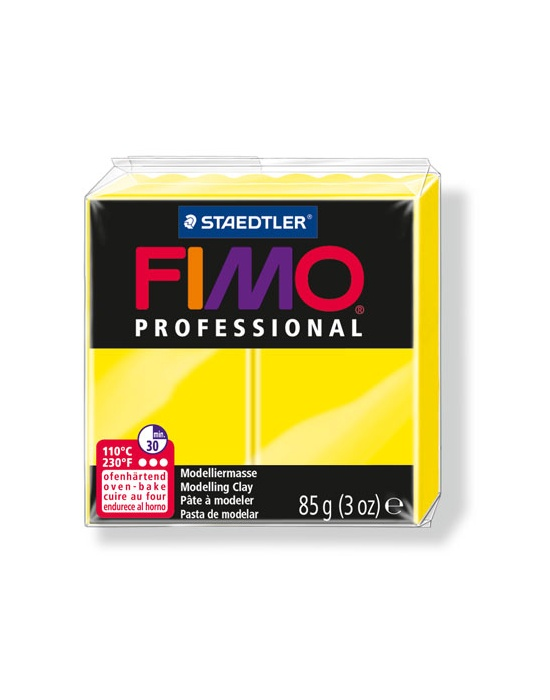 FIMO Pro 85g True Yellow Nr 100