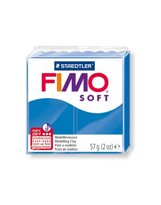 FIMO Soft 57 g bleu pacific N°37