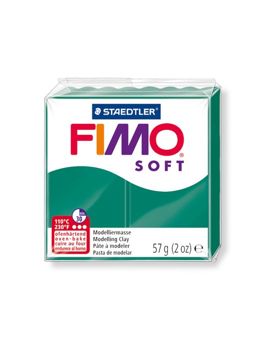 FIMO Soft 57 g 2 oz Emerald Nr 56