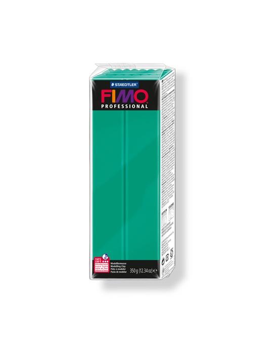 FIMO Pro 350 g vert véritable N° 500