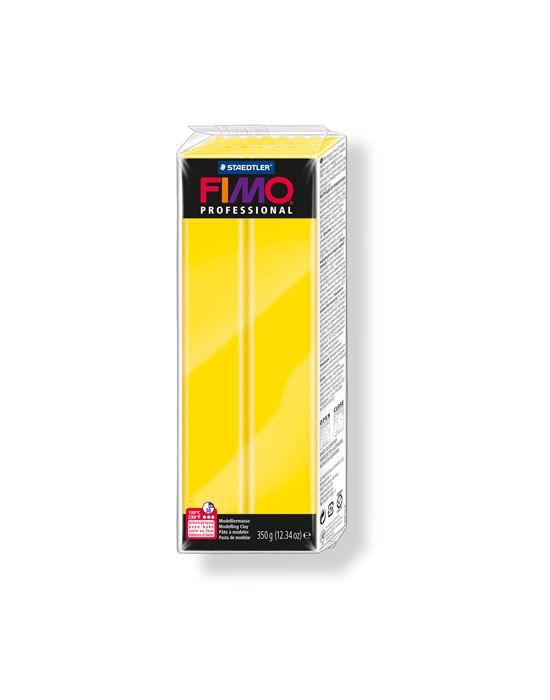 FIMO professionnal 350 g 12.34 oz true yellow N° 100