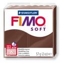 FIMO Soft 57 g 2 oz Chocolate Nr 75