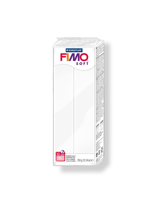 FIMO Soft 350 g 12.34 oz White Nr 0