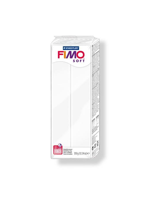 FIMO Soft 350 g 12.34 oz White Nr 0