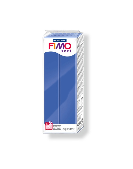FIMO Soft 350 g 12.34 oz Brillant Blue Nr 33