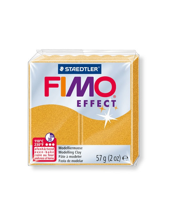 FIMO Effect 57 g Métallique Or N° 11