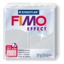 FIMO Effect 57 g Métallique Argent N° 81