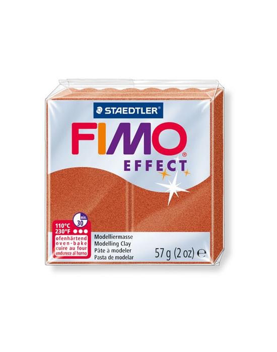 FIMO Effect 57 g Métallique Cuivre N° 27