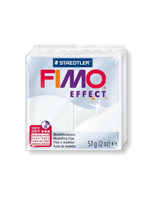 FIMO Effect 57 g 2 oz Translucent colorless Nr 14