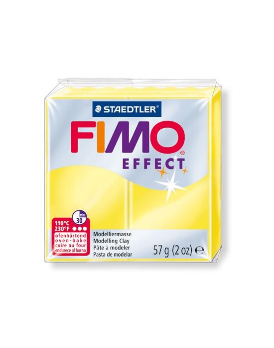 FIMO Effect 57 g 2 oz Translucent Yellow Nr 104
