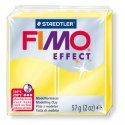 FIMO Effect 57 g Transparent Jaune N° 104