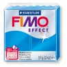 FIMO Effect 57 g transparent bleu N° 374