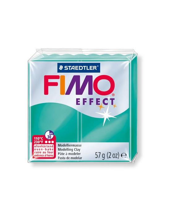 FIMO Effect 57 g transparent vert N° 504