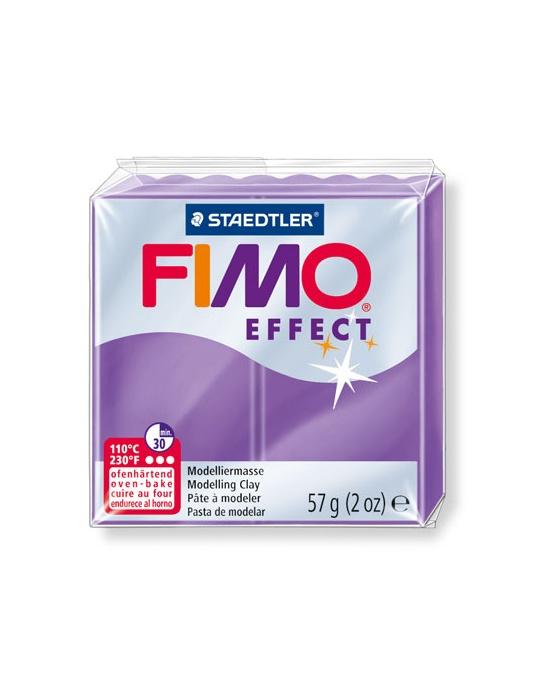 FIMO Effect 57 g 2 oz Translucent Lilac Nr 604