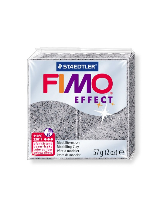 FIMO Effect 57 g 2 oz stone granite Nr 803