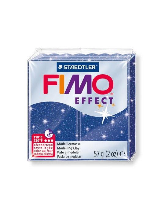 FIMO Effect 57 g 2 oz Glitter Blue Nr 302