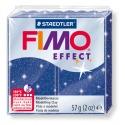 FIMO Effect 57 g Glitter Bleu N° 302