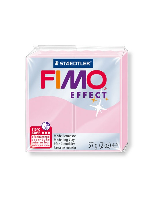 FIMO Effect 57 g pastel rose clair N° 205