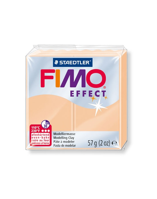 FIMO Effect 57 g 2 oz pastel peach Nr 405