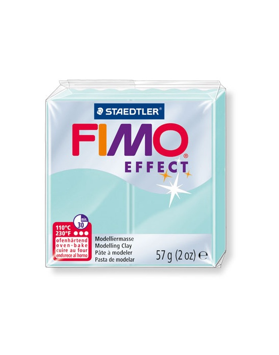 FIMO Effect 57 g 2 oz Pastel Mint Nr 505