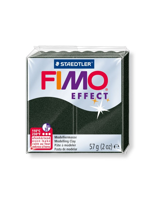 FIMO Effect 57 g 2 oz pearl Black Nr 907