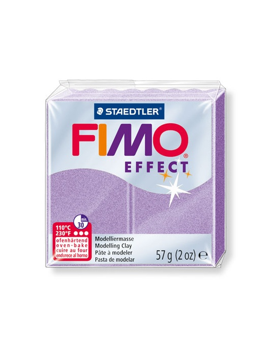 FIMO Effect 57 g Perle Lilas N° 607