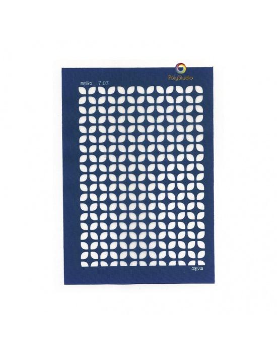 Moïko silk screen 60's squares