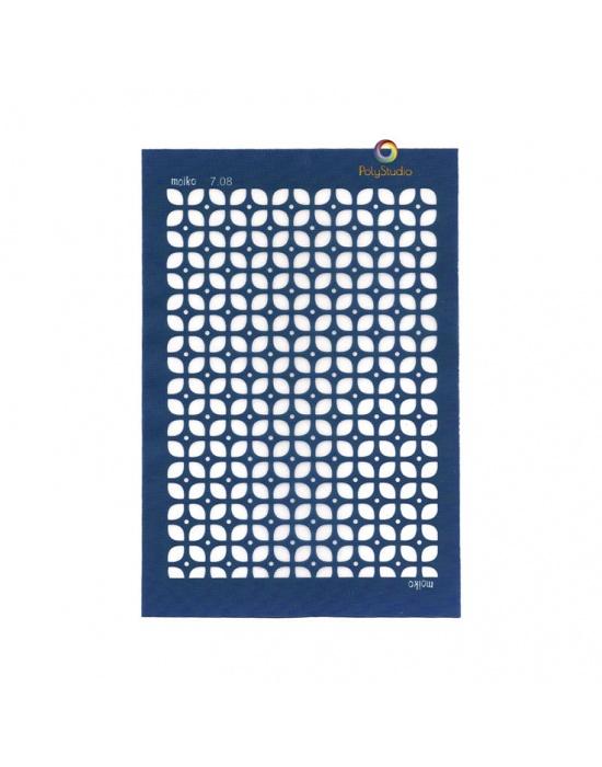 Moïko silk screen 60's squares & dots