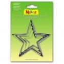 4 Makin's Star cutters