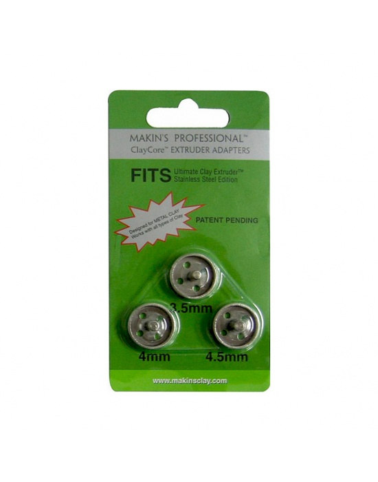 3 adaptateurs Makin's pour extrudeur 3,5 - 4 & 4,5 mm