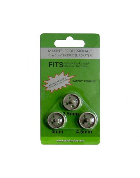 3 adaptateurs 3,5 - 4 & 4,5 mm