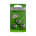3 adapters 3,5 - 4 & 4,5 mm
