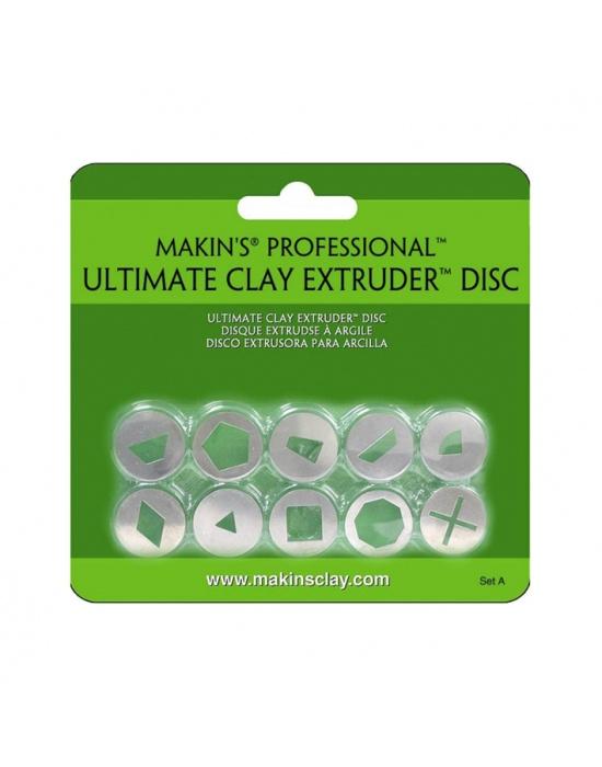 10 Makin's extruder discs Set A