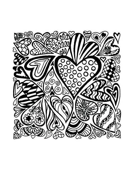 Texture Cernit Hearts