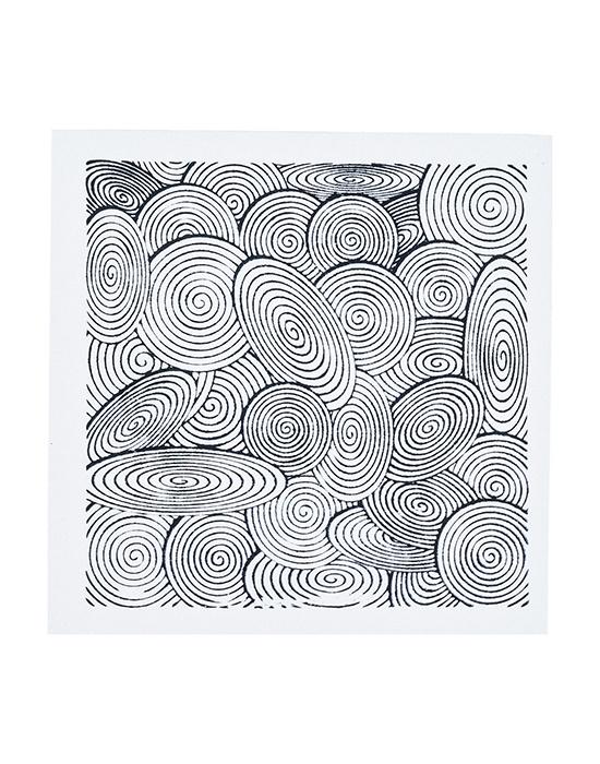 Texture stamps Cernit Spirals