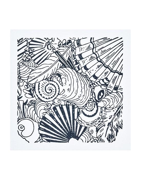 Texture stamps Cernit Shells