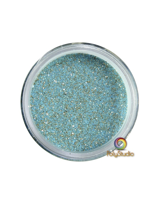 WOW embossing powder Long Island Teal glitter